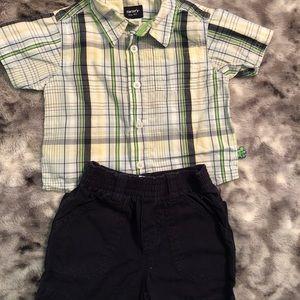 Boys Carters/Circo Outfit